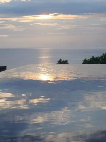 sunset from the stones, kuta