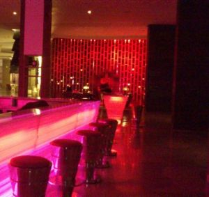 W Hotel Lounge at nite