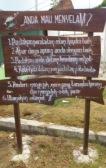board sign in karimunjawa