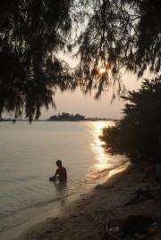 sunset view tidung kecil