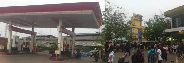 pom bensin pasar ikan