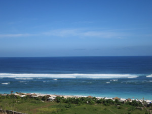 Pandawa beach in south of bali