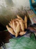 pisang molen/banana fritters at pahawang island