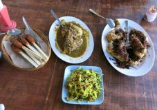 ayam betutu and balinese food
