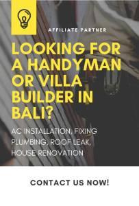 bali handyman builder